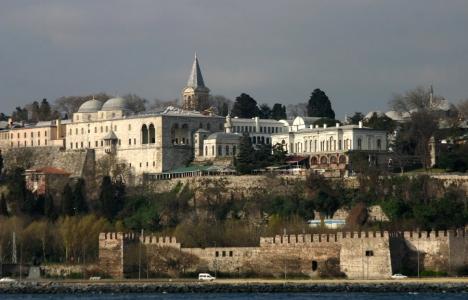 Topkapı Sarayı'nın duvarlarında