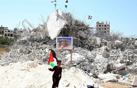 İsrail'in Gazze'de yıktığı