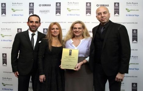 ONS İncek Residence yüksek katlı mimarlık ödülünü kazandı!