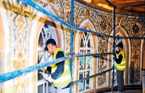 Yıldız Hamidiye Camisi'ndeki restorasyon çalışmalarında gizli imza bulundu!