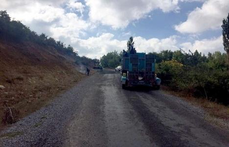 Manisa Gördes'in yolları büyükşehirle yenileniyor!