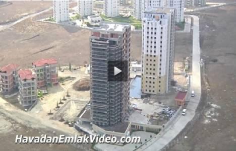 Banu Evleri Ispartakule Hasanoğlu İnşaat'ın havadan görüntüleri!