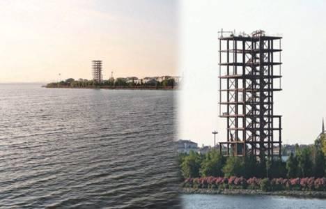 Küçükçekmece sahilindeki bina bölgeye 2 bin ek nüfus getirecek!