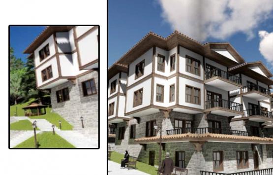 TOKİ'den Isparta'ya 469 yöresel mimarili konut!