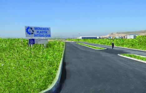 Menemen Plastik İhtisas OSB'de imar değişikliği talebi!
