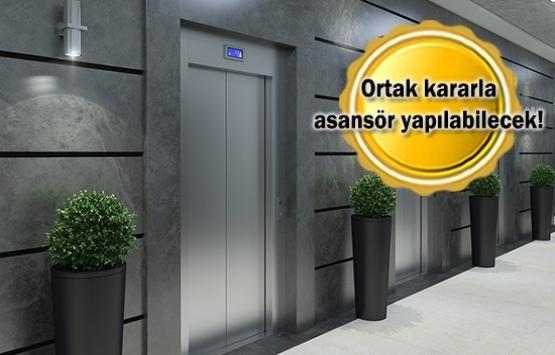 Mimari projeye uygun binaya asansör yaptırabilirsiniz!