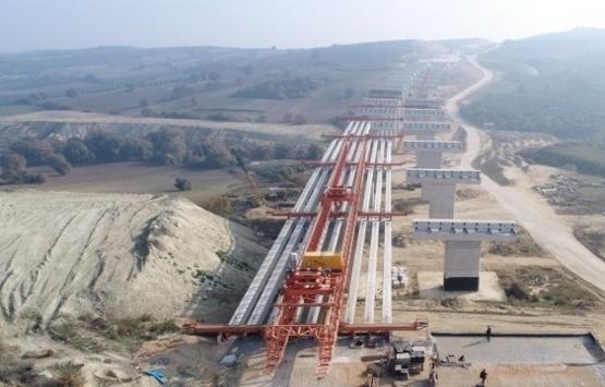 Badırga-Çatalağıl Kavşağı'nın yüzde 95'i tamamlandı!