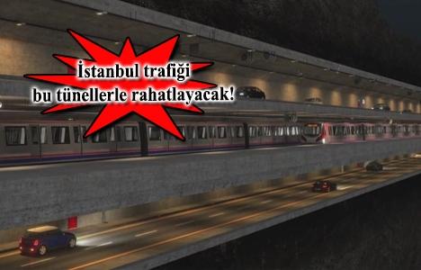 İstanbul'daki 17 tünel