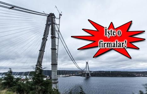 1915 Çanakkale Köprüsü ihalesine 24 firma talip oldu!