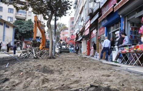 Tekirdağ Çınarlı Caddesi'nde yol çalışmaları başladı!