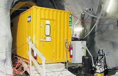 Madenlerde sığınma odalarının