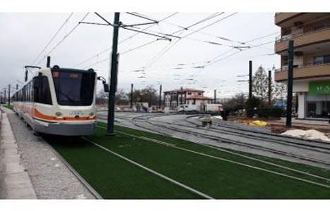 Gaziantep'te Akkent-Gar arası tramvay seferleri tekrar başladı!