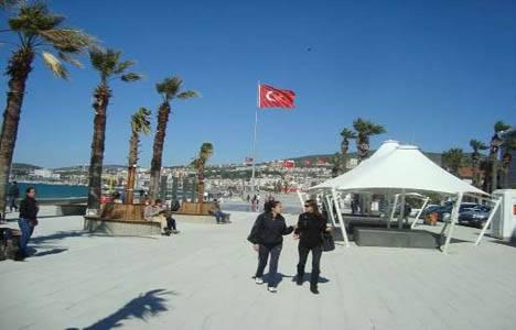 Kuşadası Sahil Projesi'nin ilk etabı tamamlandı!