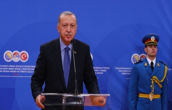 Cumhurbaşkanı Erdoğan: Yol