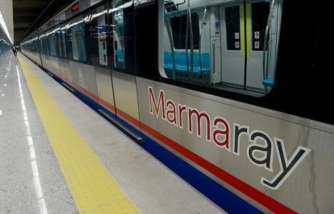Marmaray trenleri henüz