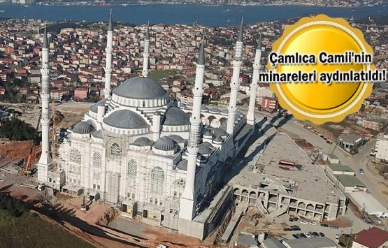Çamlıca Camii'nin inşaatı
