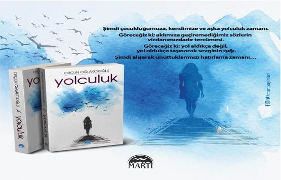 """Orçun Oğlakcıoğlu'nun """"Yolculuk"""" kitabı çıktı!"""
