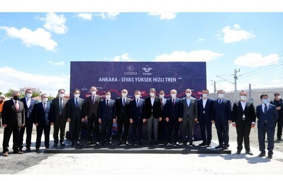 Ankara-Sivas YHT hattının çalışmalarında son durum!