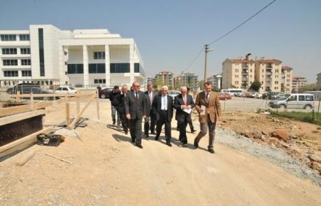 Şükrü Kocatepe Özel Eğitim Merkezi inşaatını inceledi!