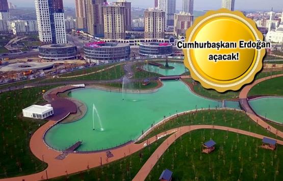 İstanbul'un 5 büyük millet bahçesi bugün açılıyor!