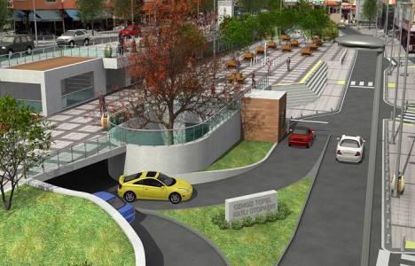 Cengiz Topel Caddesi zemin altı katlı otopark projesi devam ediyor!
