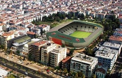 Karşıyaka Stadı davasında ret kararı!