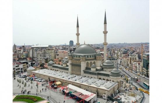 Taksim Cami ramazanın son cuması ibadete açılıyor!