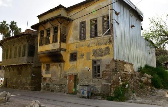 Adana'da asırlık konaklar yenilenecek!