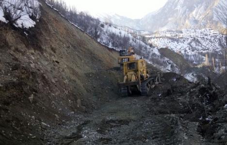 Erzurum Oltu'da yeni yollar açılıyor!