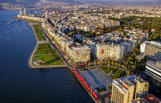 İzmir'de konut metrekare
