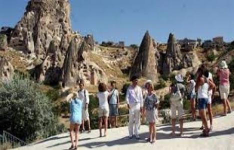 Kapadokya'ya 11 ayda