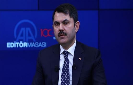 Murat Kurum bugün AA Editör Masası'na konuk olacak!