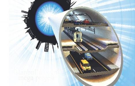 3 katlı mega tünel denizin 110 metre altından geçecek!