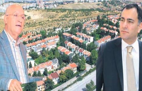 Ankara Çayyolu'ndaki arazi