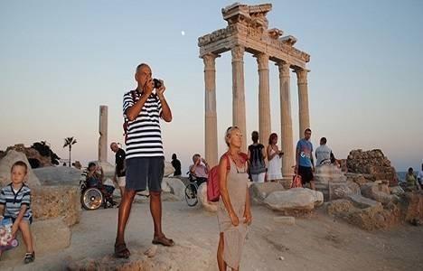 Muğla'ya gelen turist