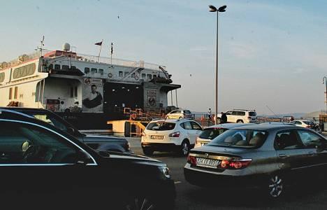 İstanbul'a dönüş yolunda yoğunluk!