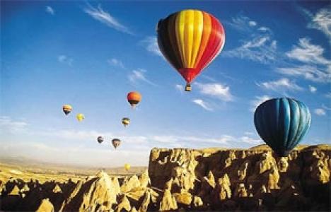 Kapadokya'da balon turlarına ilgi artıyor!