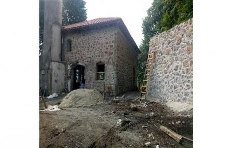 Kocaeli'deki 130 yıllık Taş Cami yenileniyor!