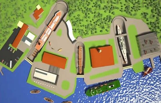 Haliçport'un yeni imar planı askıya çıktı!