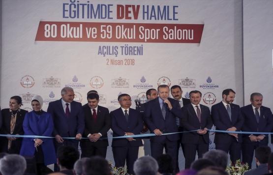 İstanbul'da 80 okul ve 59 okul spor salonu açıldı!