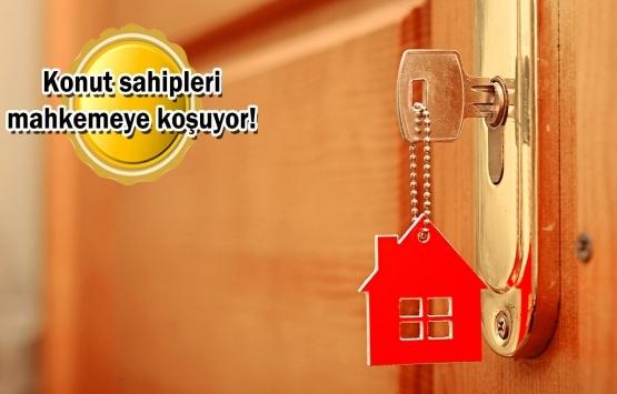 Ev sahipleri ve kiracılar arasındaki davalarda patlama!
