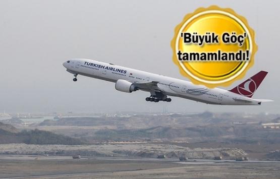 İstanbul Havalimanı'nda ilk
