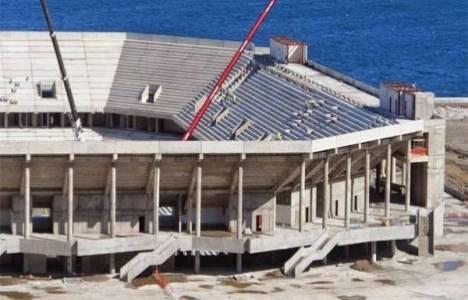 Trabzon Akyazı Stadı'nın açılış tarihi değişti!