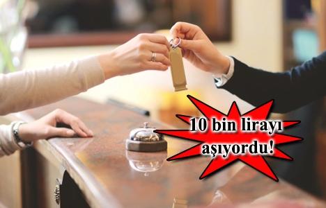 Beyoğlu'ndaki lüks otel odalarının aylığı bin TL'ye düştü!