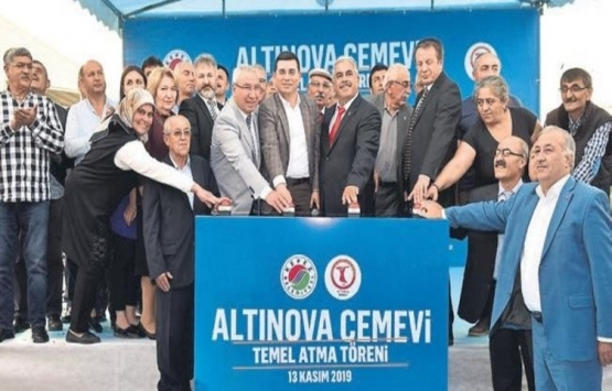Altınova Cemevi'nin temeli