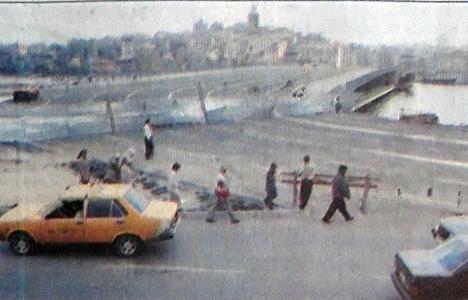1992 yılında Galata Köprüsü hizmete açılacakmış!