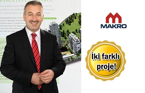 Makro İnşaat Başakşehir'de 1500 konut yapacak! Yeni projeler!