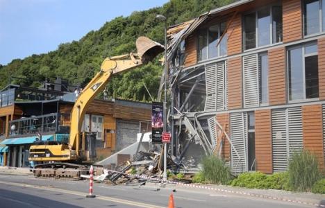 Kuruçeşme'deki yıkıma İBB'den açıklama!