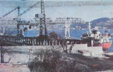 1983 yılında Boğaziçi'ndeki