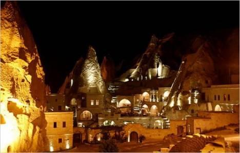 Kapadokya'daki oteller yılbaşına hazırlanıyor!